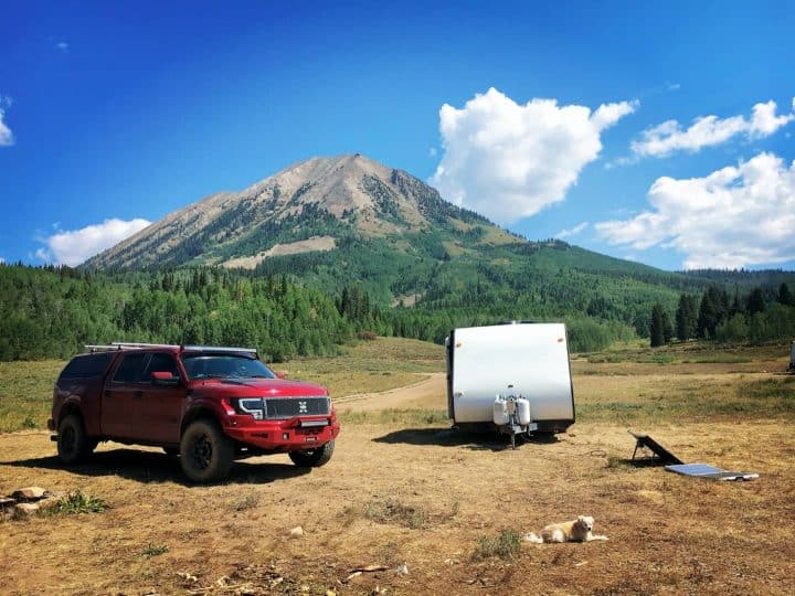 National Forest camping Crested Butte
