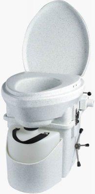 Natures Head composting toilet spider crank handle