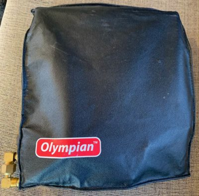 Olympian heater cover