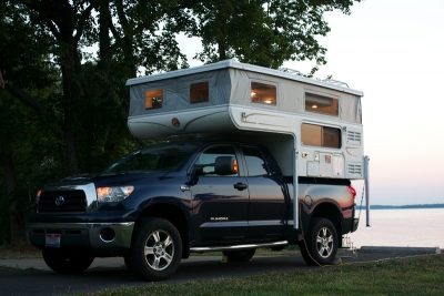 Pop Up Camper up