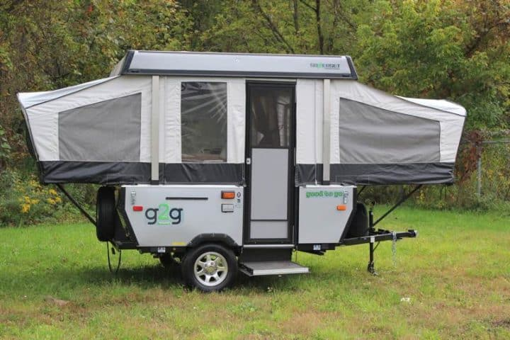 Pop-Up Tent Trailer exterior