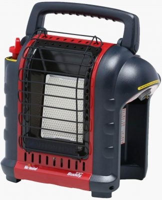 Mr Heater Portable Buddy Heater with Propane Tank Refill Adapter