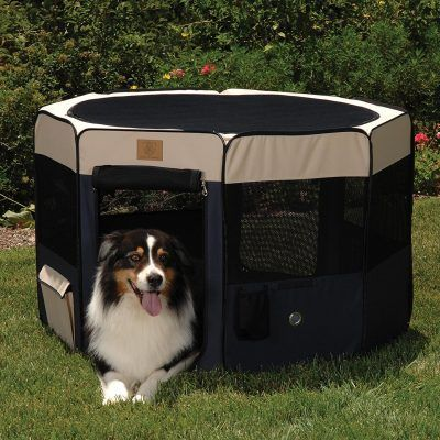 Precision pet soft sided play yard