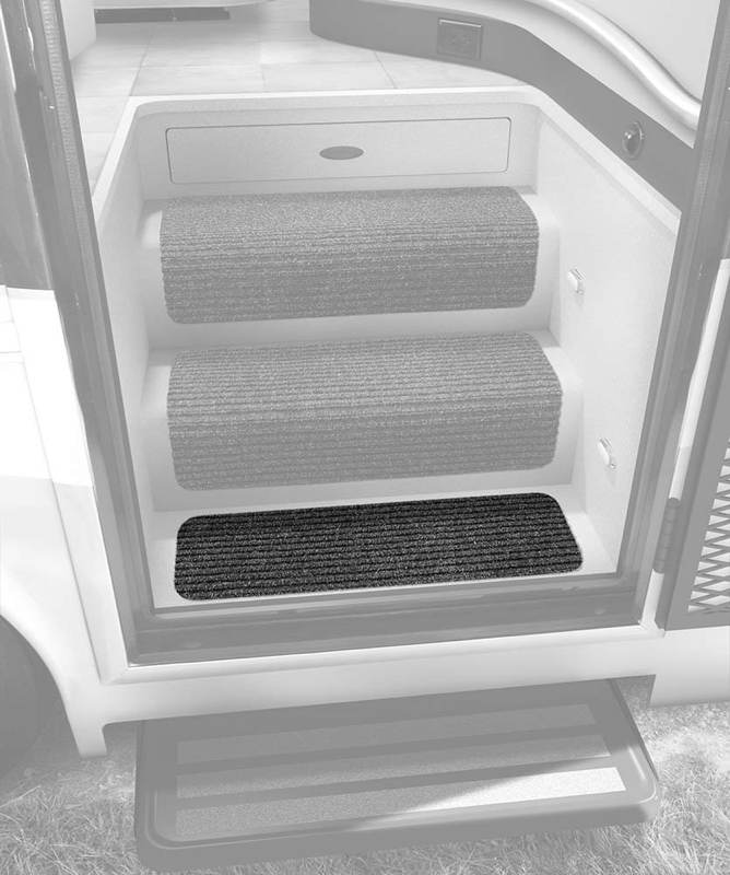 Prestofit Step Huggers RV landing step rug 2