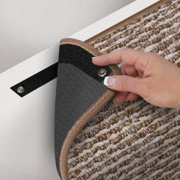 Prestofit Step Huggers RV stair step rug velcro