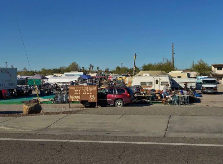 Quartzsite Flea Market