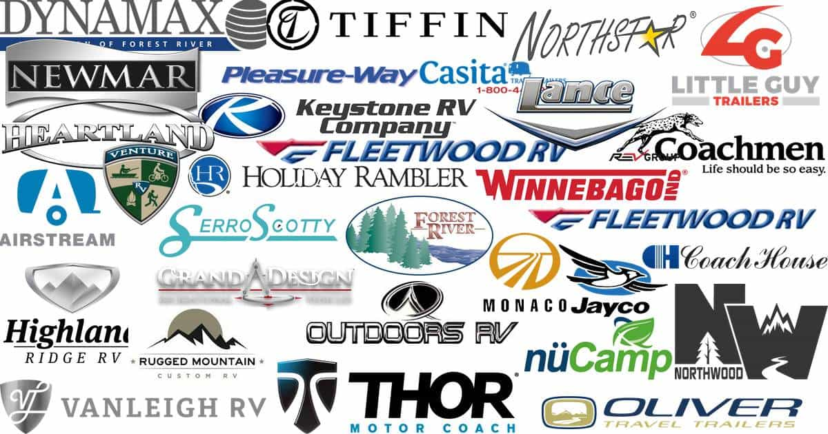 Rv Manufacturers The Definitive List Of Rv Brands Camp