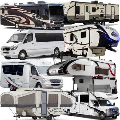 RV Types Featured Image