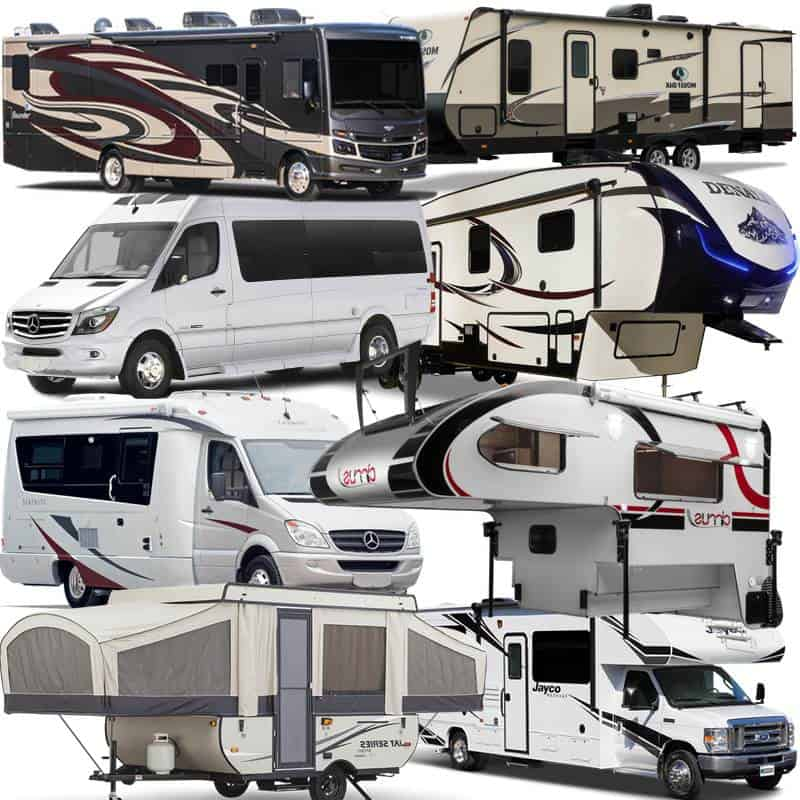 What Are The Different Types Of Rvs Camp Addict