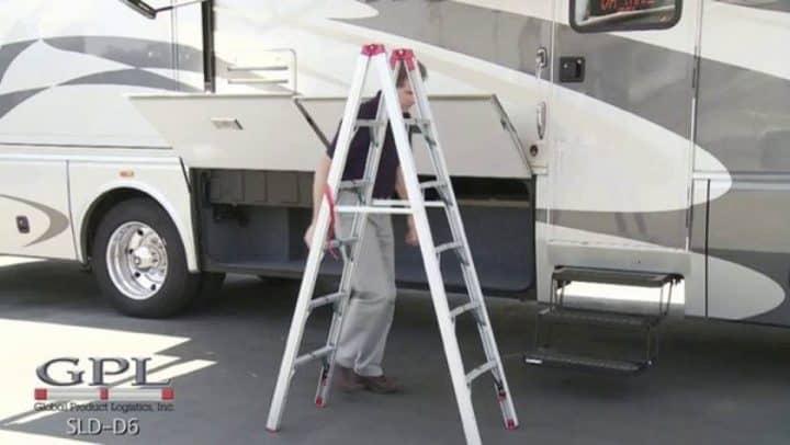RV folding ladder GP Logistics