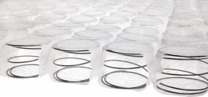 RV mattress pocket springs