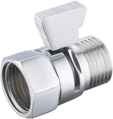 RV shower shut-off valve