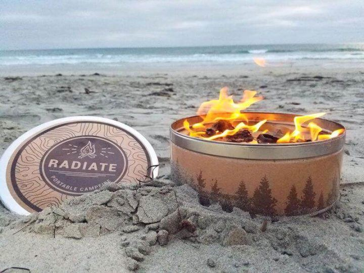 Radiate Portable stove beach