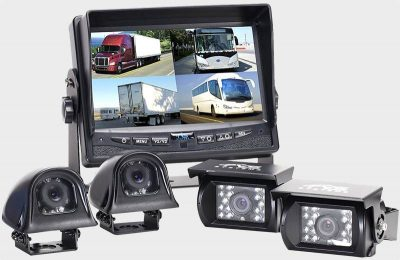 Rear View Safety RVS-062710 monitor and motorhome backup cameras