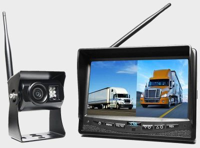 Rear View Safety RVS-2CAM monitor and rv wireless backup camera