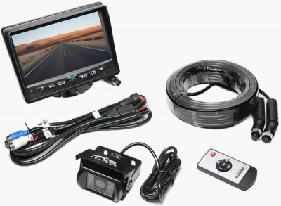 Rear View Safety RVS-770613-NM backup camera contents