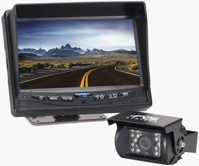 Rear View Safety RVS-770613 monitor and rv rear camera