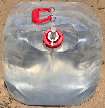 Reliance 5 gallon collapsible water container
