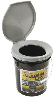Reliance Luggable Loo bucket toilet