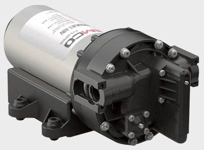 Remco Aquajet RV water pump right front