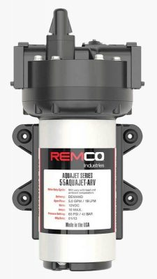 Remco Aquajet RV water pump top