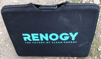 Renogy 100 watt portable solar panel case
