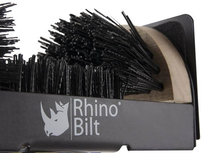 Rhino Bilt Folding Boot Scraper brush detail