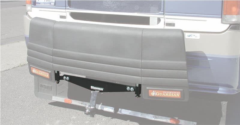 Roadmaster Stowaway installed on motorhome