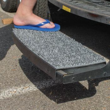 Safety Step Sand Away RV step cover curved