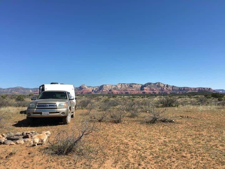 Sedona dispersed camping