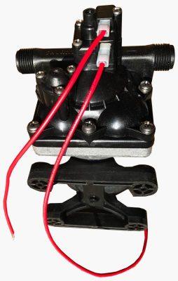 Shurflo 12 volt RV water pump 4008 bottom