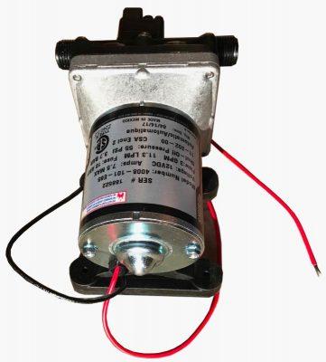 Shurflo 4008 RV water pump top
