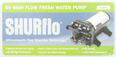 Shurflo 4048 12 volt water pump box
