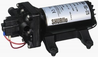 Shurflo 4048 rv water pump left side