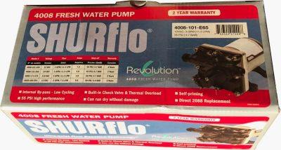 Shurflo RV water pump 4008 box