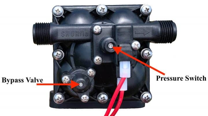 What is the Best 12 Volt RV Water Pump for 2019? - Camp Addict Shurflo Rv Water Pump Wiring Diagram on