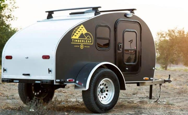 Small Teardrop Trailer exterior