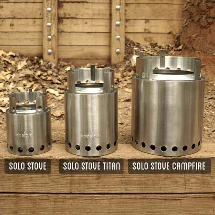 Solo stove model comparison