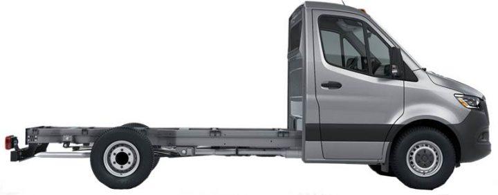 Sprinter Class B+ cutaway chassis