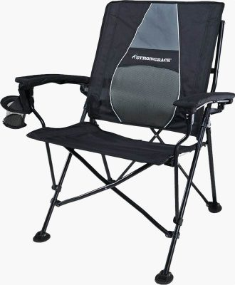 Strongback Chair blue gray