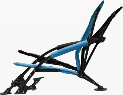 Strongback Low Gravity Recliner beach chair positions