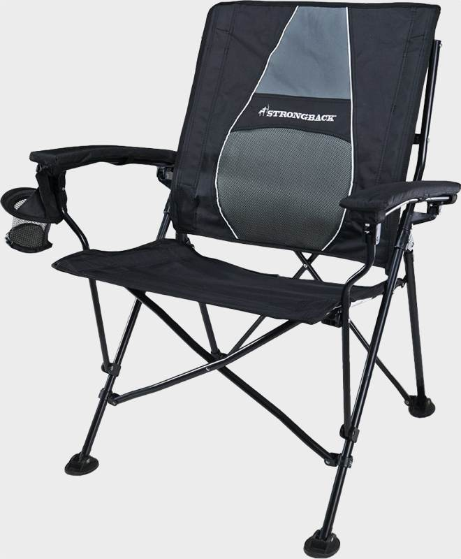 Blue Trespass Adults Polyester with Steel Frame Bucket Camping Chair