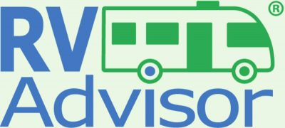 The RV Advisor logo