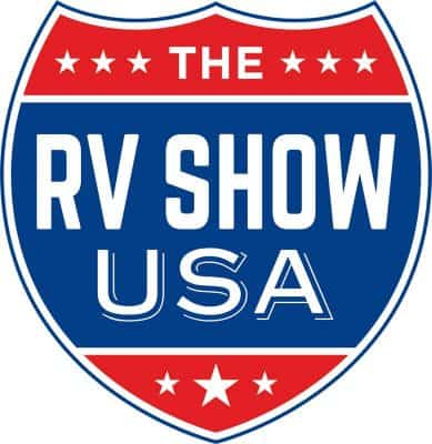 The RV Show USA logo
