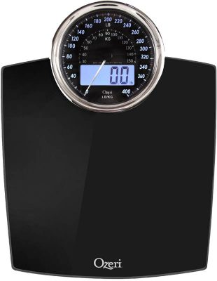 Typical bathroom scale