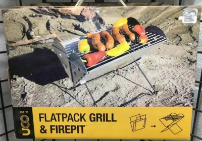 UCO Flatpack grill and firepit box