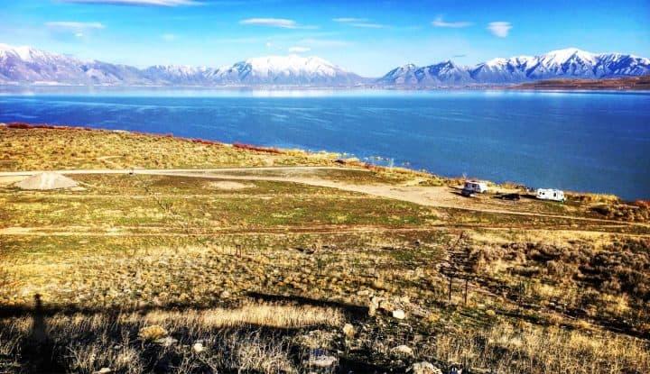 Utah Lake boondocking