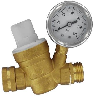 Valterra brass water pressure regulator