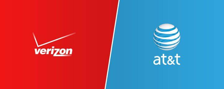 Verizon & ATT logo