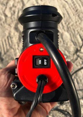 Viair 88p 12 volt compressor back